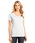 District Made DM1170L Women Perfect Weight V-Neck Tee