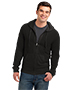 District DT1100 Men Lightweight Jersey Full-Zip Hoodie