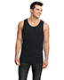 District DT1500 Men Cotton Ringer Tank