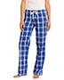 District DT2800 Women Flannel Plaid Pant