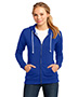 District DT290 Women Core Fleece Full-Zip Hoodie