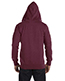 Custom Embroidered Econscious EC5680 Men 7 Oz. Organic/Recycled Heathered Full-Zip Hood