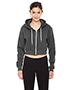 American Apparel F397W Ladies 8.2 oz Cropped Flex Fleece Zip Hoodie