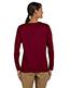 Gildan G540L Women Heavy Cotton 5.3 Oz. Missy Fit Long-Sleeve T-Shirt