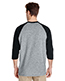 Gildan G570 Men Heavy Cotton ¾ Sleeve Raglan