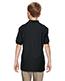 Gildan G728B Boys Dryblend 6.3 Oz. Double Pique Sports Shirt