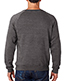 J America J8875 Adult Tri-Blend Fleece Crew