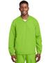 Sport-Tek JST72 Men V-Neck Raglan Wind Shirt