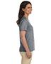 LAT L-3587 Ladies 5.5 oz Premium Jersey V-Neck T-Shirt
