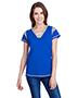 LAT LA3533 Ladies Gameday Lace Up T-Shirt
