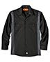 Dickies LL524 Unisex Industrial Color Block Long-Sleeve Shirt