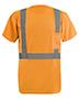 OccuNomix LXSSETP Men LUX-SSETP2B-Orange and Yellow Sizes Reflective Pocket T-Shirt