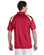 Harriton M318 Men 4 Oz. Polytech Colorblock Polo