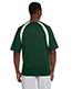 Harriton M322 Men 4.2 oz. Athletic Sport Colorblock TShirt