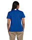 Harriton M355W Women Side Blocked Micro Pique Polo