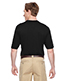Harriton M400 Men Adult Prime Short-Sleeve Performance Henley