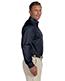 Harriton M500T Men Tall Easy Blend Long-Sleeve Twill