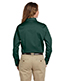Harriton M500W Women Easy Blend Long-Sleeve Twill Shirt With Stain-Release