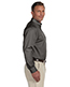 Harriton M500 Men Easy Blend Long-Sleeve Twill Shirt With Stain-Release