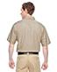 Harriton M545 Men Advantage Snap Closure Short-Sleeve Shirt