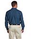 Harriton M550 Men 6.5 Oz. Long-Sleeve Denim Shirt