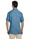 Harriton M575 Men Twotone Bahama Cord Camp Shirt