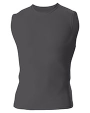 A4 N2306 Men Compression Muscle Shirt