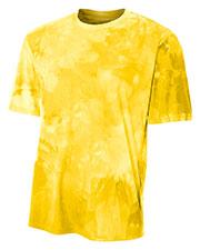 A4 N3295 Men Cloud Dye T-Shirt