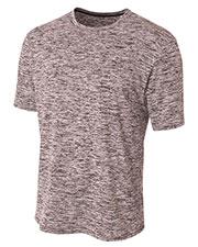 A4 N3296 Men Space Dye T-Shirt