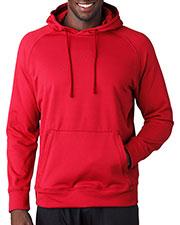 A4 N4237 Men Solid Tech Fleece Hoodie