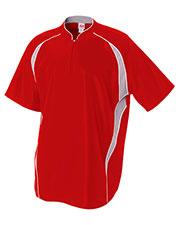 A4 N4241 Men 1/4-Zip Batting Jacket
