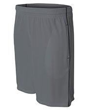 A4 N5340 Men Flat Back Mesh Shorts