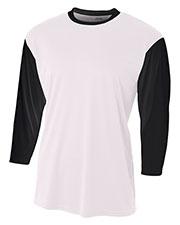 A4 NB3294 Boys 3/4-Sleeve Utility Shirt