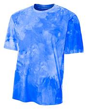 A4 NB3295 Boys Cloud Dye Tech Tee