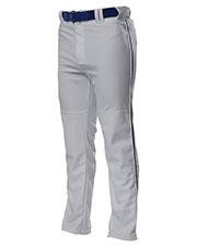 A4 NB6162 Boys Pro Style Open Bottom Baggy Cut Baseball Pant