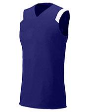 A4 Drop Ship NW2340 Women Moisture Management V-Neck Muscle Shirt