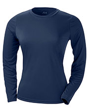 A4 NW3002 Women Long-Sleeve Cooling Performance Crew Shirt