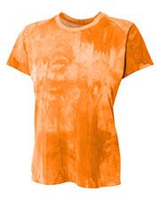 A4 NW3295 Women Cloud Dye Tech Tee
