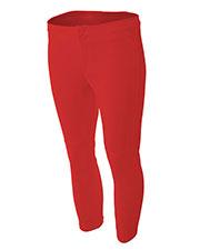 A4 Drop Ship NW6166 Women Softball Pants
