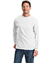 Port & Company PC61LSP Men Long-Sleeve Essential T-Shirt With Pocket