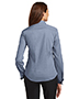 Red House RH63 Women French Cuff Non-Iron Pinpoint Oxford
