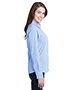 Artisan Collection by Reprime RP320 Ladies 3.7 oz Microcheck Gingham Long-Sleeve Cotton Shirt