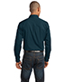 Port Authority S649 Men Stain-Resistant Roll Sleeve Twill Shirt