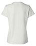 Hanes SL04 Women 4.5 Oz. 100% Ringspun Cotton Nanot T-Shirt