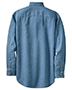 Port & Company SP10 Men Long-Sleeve Value Denim Shirt