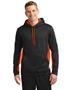 Sport-Tek® ST235 Men Sport-Wick Fleece Colorblock Hooded Pullover