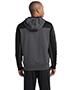 Sport-Tek® ST249 Men Tech Fleece Colorblock 1/4-Zip Hooded Sweatshirt