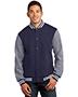 Sport-Tek® ST270 Men Fleece Letterman Jacket