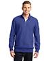 Sport-Tek® ST283 Men Super Heavyweight 1/4-Zip Pullover Sweatshirt