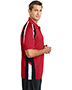 Sport-Tek® ST654 Men Tricolor Micro Pique Sportwick Polo